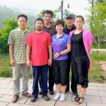 潍坊学院访问大青山