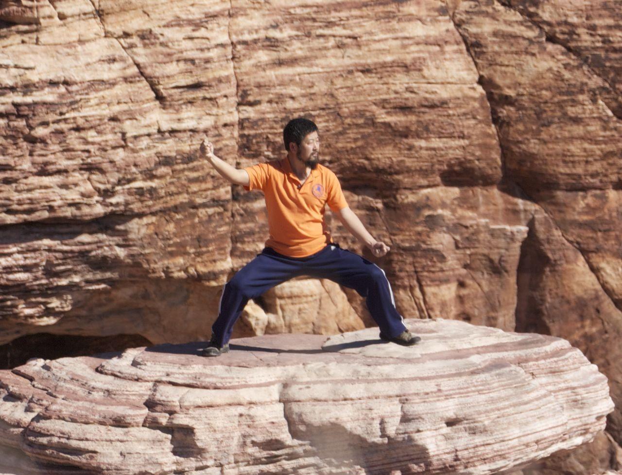 陈中华在美国红石谷