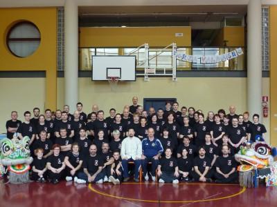 实用拳法陈中华2009年在意大利教学。