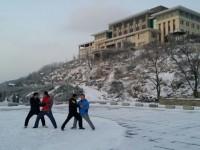 大青山雪中练拳15-3