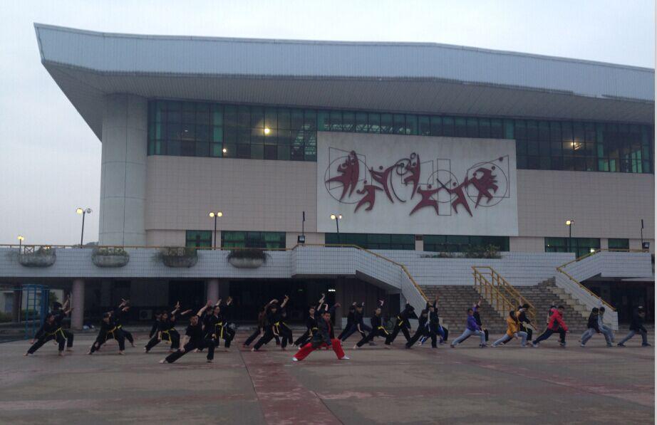 实用拳法走劲广东培正学院