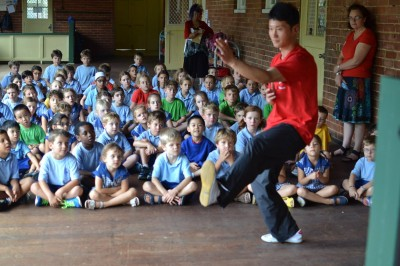 陈旭2015年在澳洲佩斯