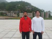 作者乔纳森·布鲁斯坦 (以色列)和陈中华老师