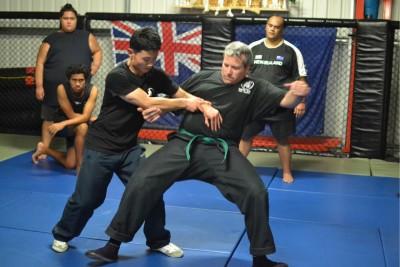 陈旭2015年在佩斯和柔术拳手实战
