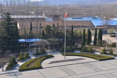 大青山国际太极学校 - 升旗台3