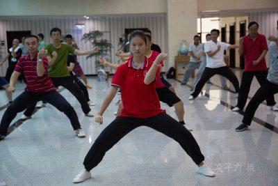参加第十七届大青山实用拳法讲座的泉州学员拳照。