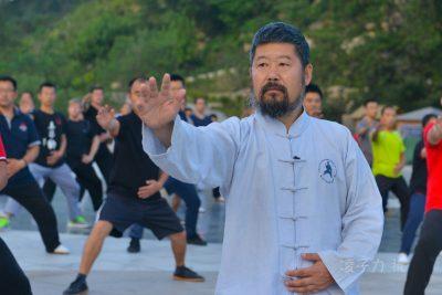 陈中华在第十六届大青山实用拳法讲座上