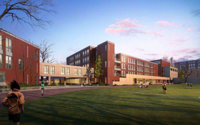 大青山太极学校概念设计图。