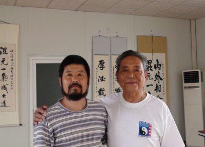 陈中华老师2008年和他的恩师冯志强宗师在北京。