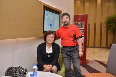 陈中华2016年在南通拜访朱婉华院长