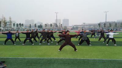 潍坊安丘第三期实用拳法讲座