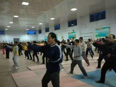 陈式太极拳实用拳法五莲公益培训班3