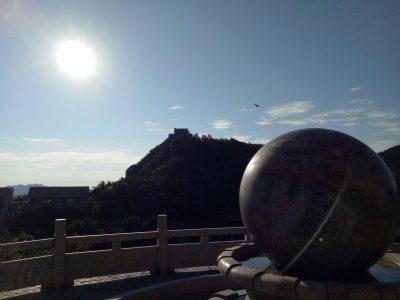 大青山国际酒店外风景