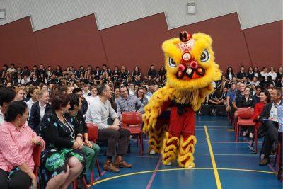 什么样的活动都离不了中国舞狮!